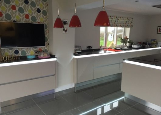 Finished kitchen - Moorview
