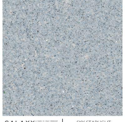 New Silver glitter, Navy and Sky Blue Italian Quartz Worktops