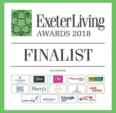 WOW! We are Exeter Living Awards Finalists